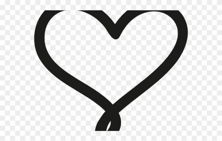 Drawn Heart Heart Outline Clipart 2952184 Pinclipart