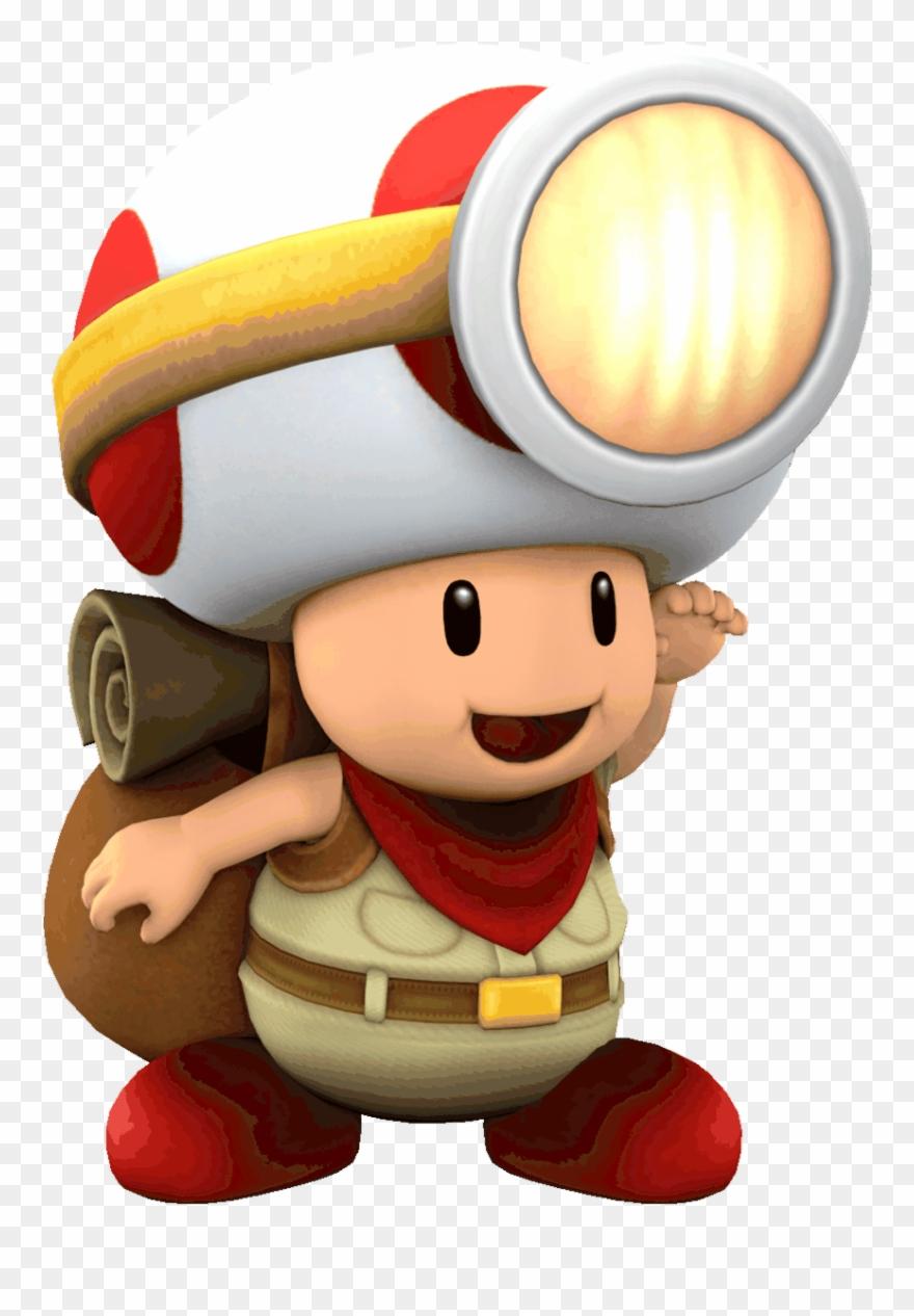 Toad Transparent Mario Clipart 2970012 Pinclipart