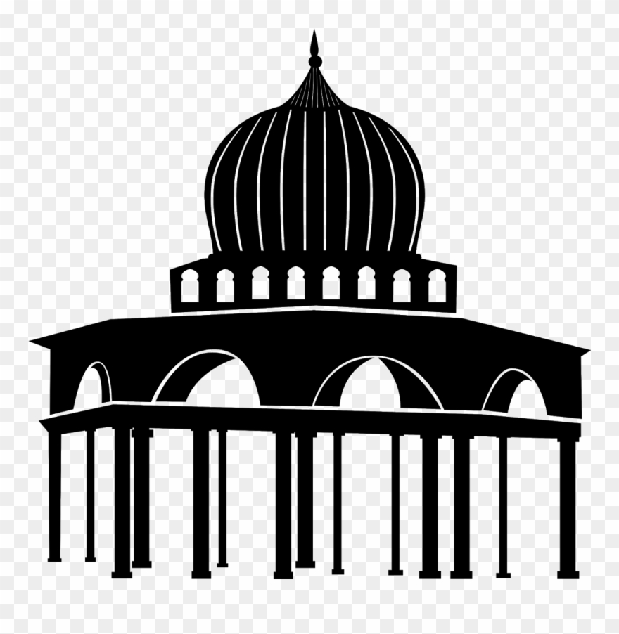 Download Vector Gambar Masjid Cdr & Hd Clipart