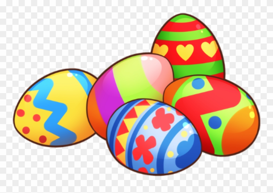 Download Easter Clip Art Free Clipart Of Easter Eggs - Easter Eggs Clipart - Png Download