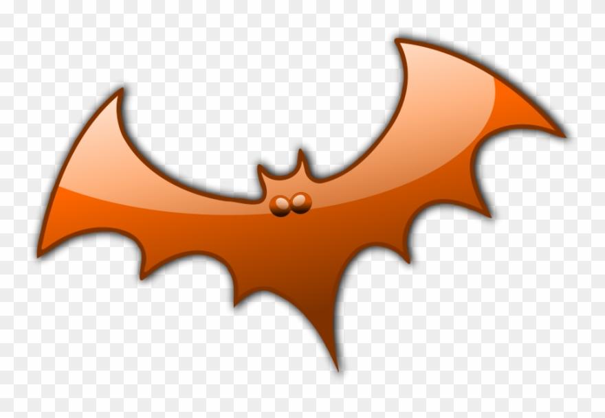 Halloween H 8 Clipart Vector Clip Art Online Royalty Halloween Chauve Souris Orange Png Download 31292 Pinclipart