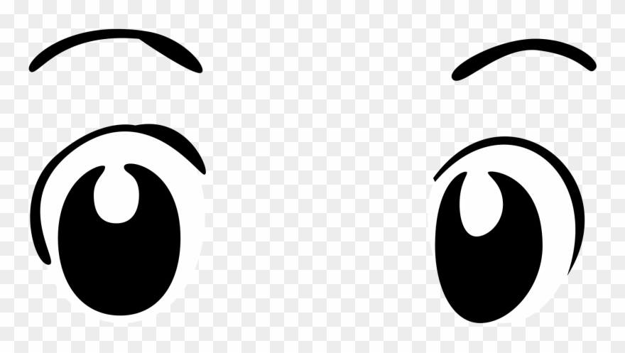 Eyes anime. File basic wide transparent