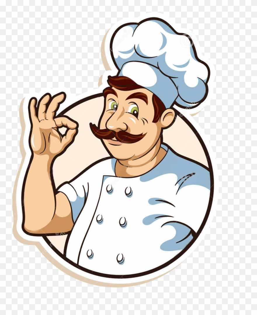 Cooking Kitchen Clip Art: Vector Library Stock Chefs Clipart Cooking Demo