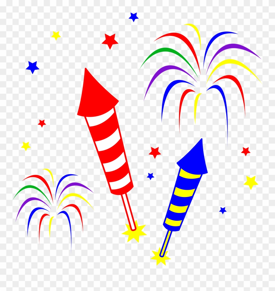 4th of july sparkler. Fireworks clipart th png