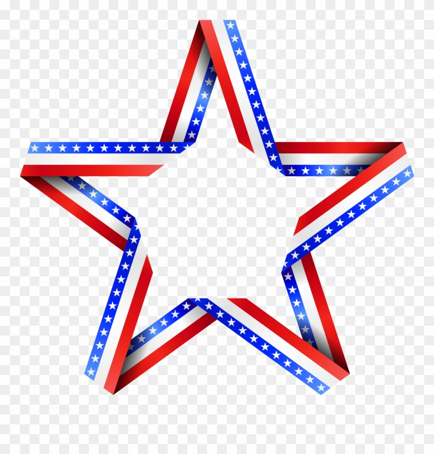 Usa flag star. Blue background wallpapers backgrounds