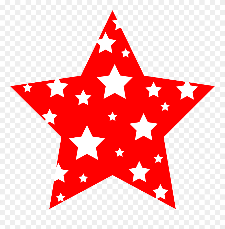 4th of july stars. Clipart star th new