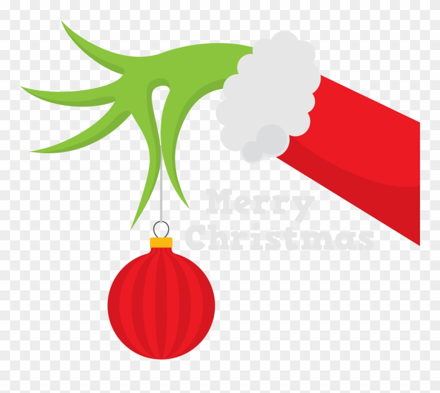 How The Grinch Stole Christmas Silhouette Whoville Grinch Hand Svg Free Clipart 35924 Pinclipart