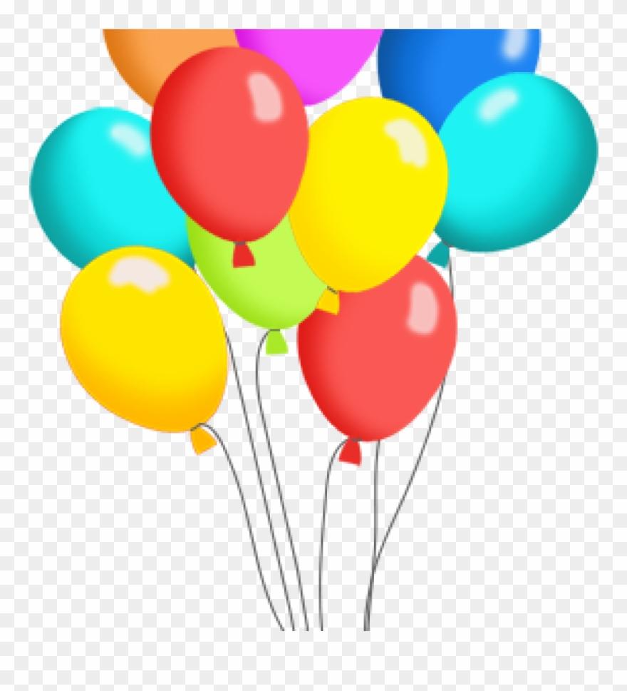 Balloon birthday. Balloons clipart free clip