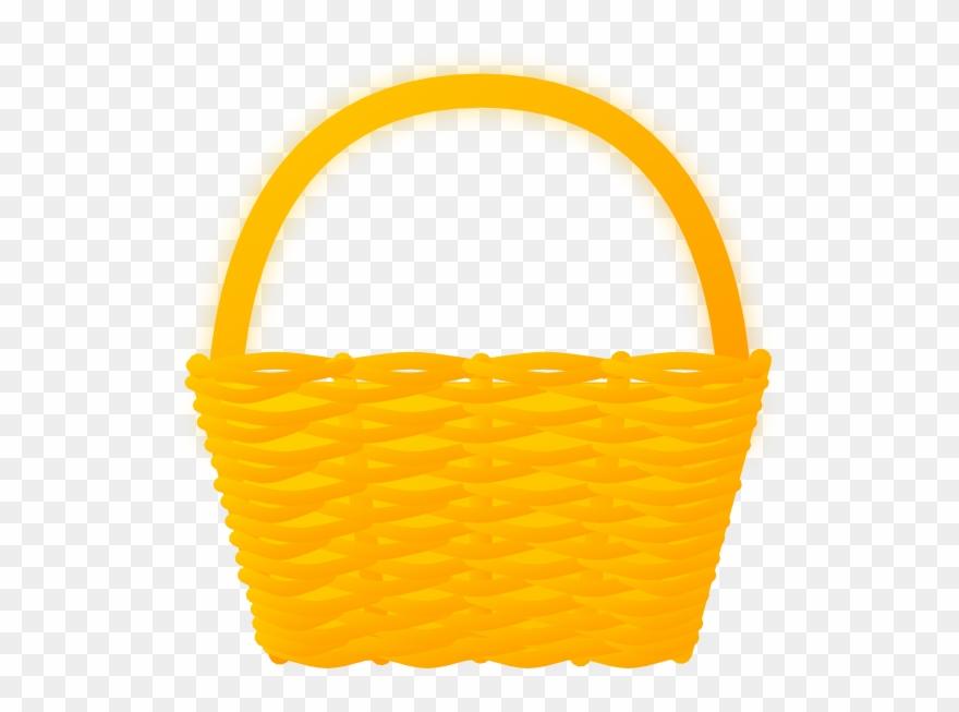 Picnic Basket Clipart Brown Empty Basket Clipart Png