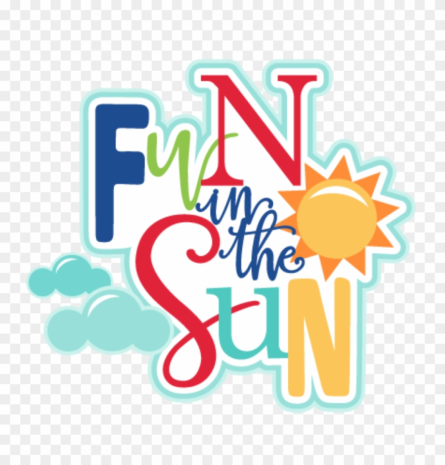 Summer Fun Clip Art Fall Summer Fun Clip Art Clipart - Transparent Images For Summer Fun - Png Download