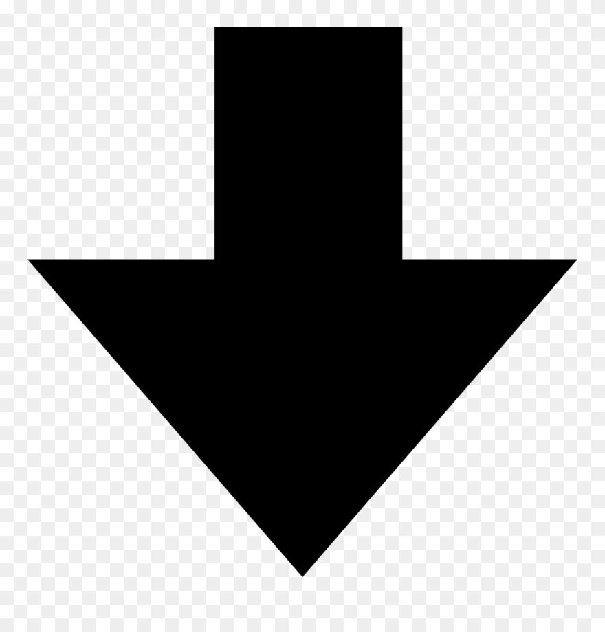 Arrow Pointing Down >> Down Arrow Arrow Pointing Down Clip Art Png Download 38386