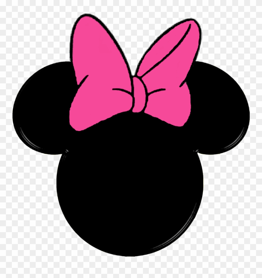Mickey mouse head minnie. Clipart png download