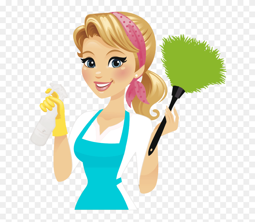Png Royalty Free House Cleaning For The - Cleaning Lady Clipart ...