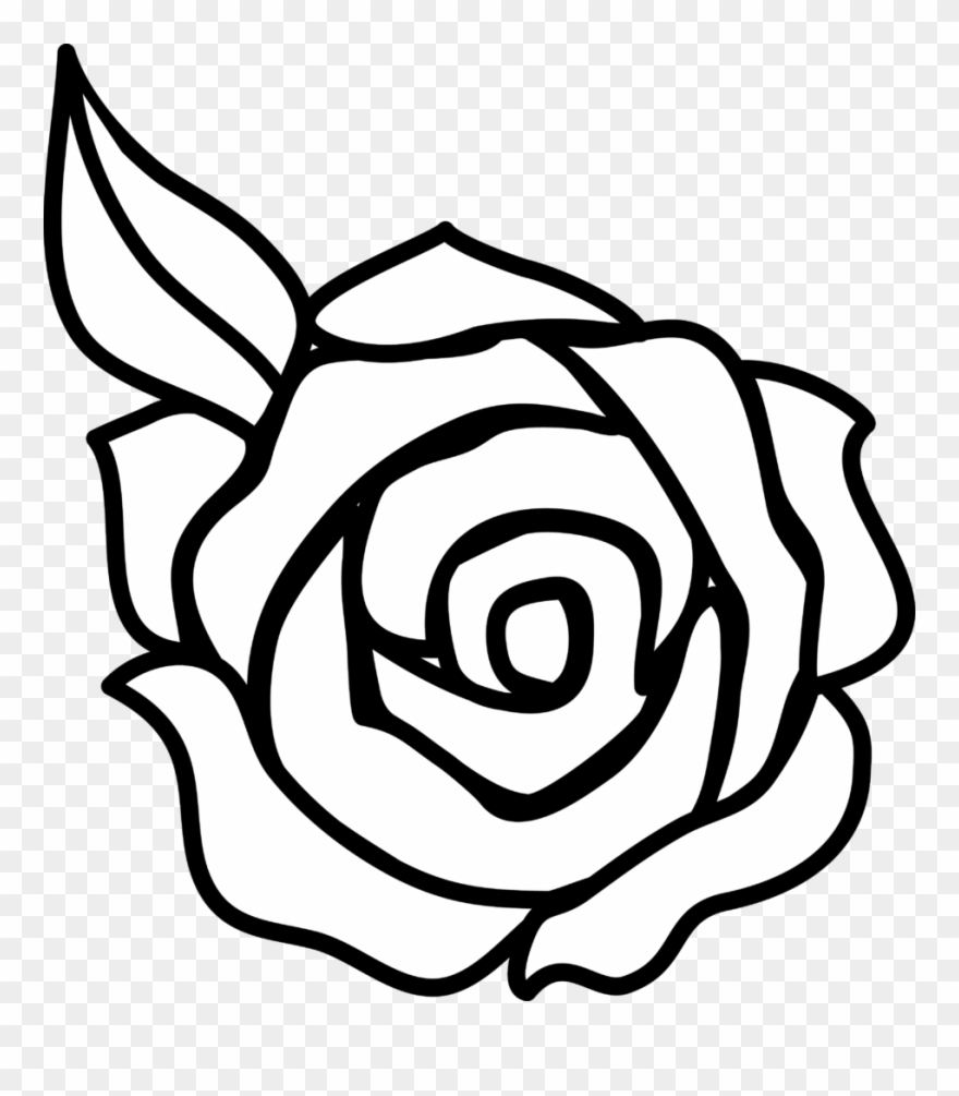 Rose Flower Clipart Drawing Roses Png Download 39754 Pinclipart