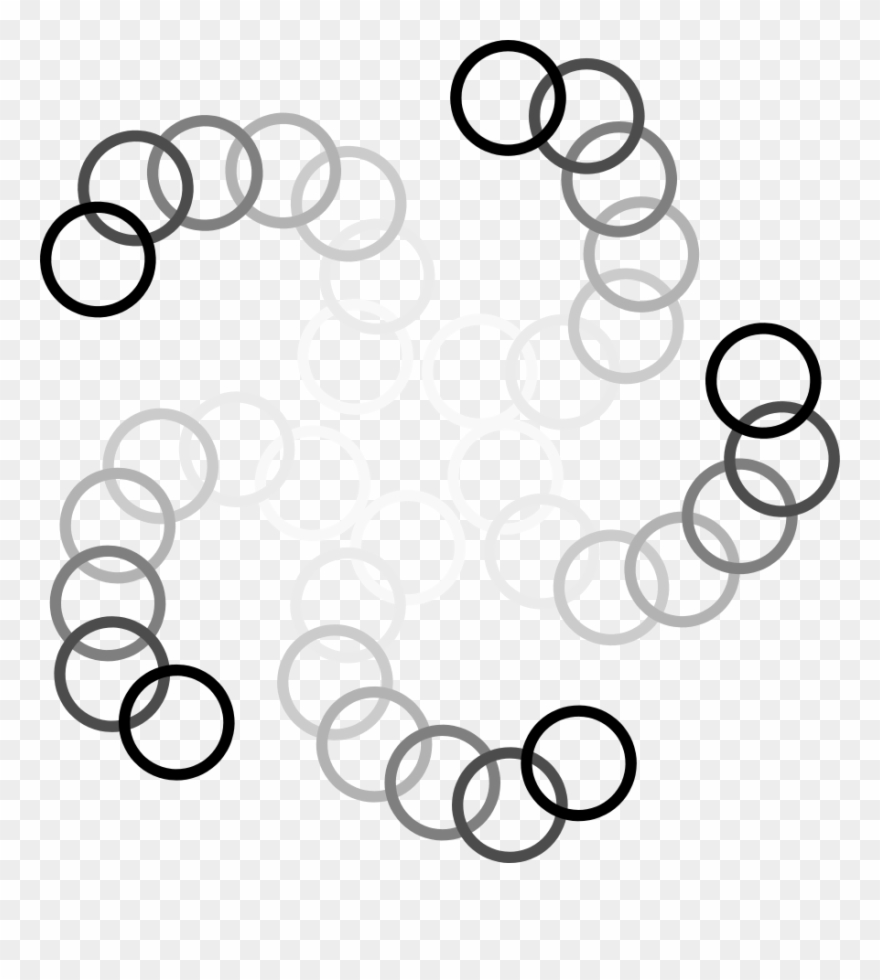 Ani Circle Small Clipart 300pixel Size, Free Design - Circle With Pattern Clipart - Png Download