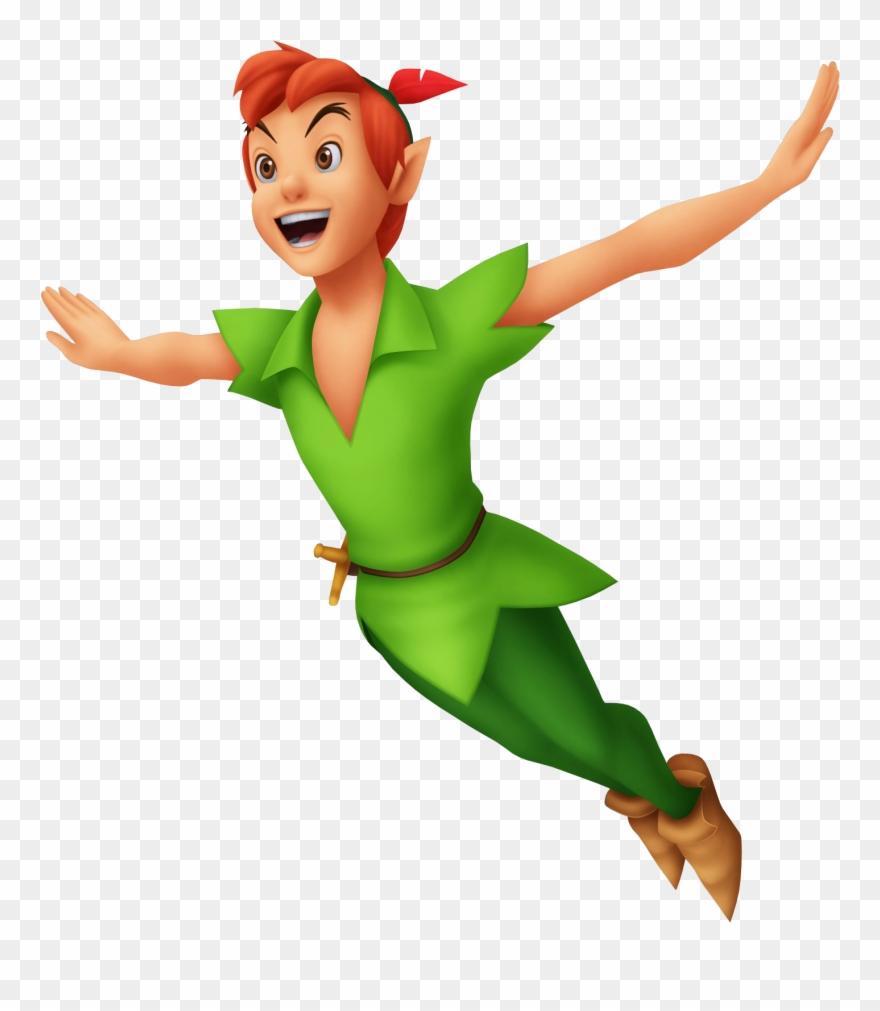 Feather Clipart Peter Pan - Peter Pan - Png Download