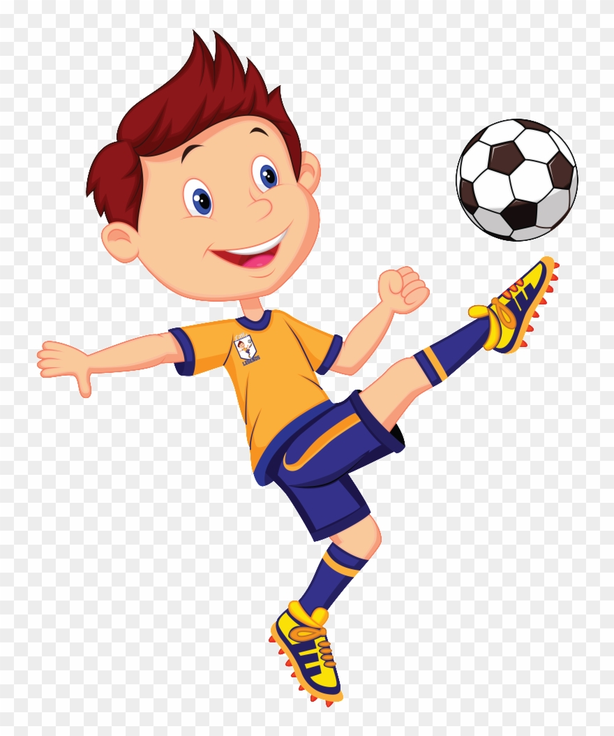 Football Player Png - Playing Football Clipart Transparent