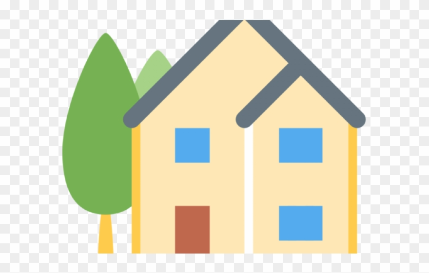 House Clipart Emoji House Emoji Transparent Background Png Download 308715 Pinclipart