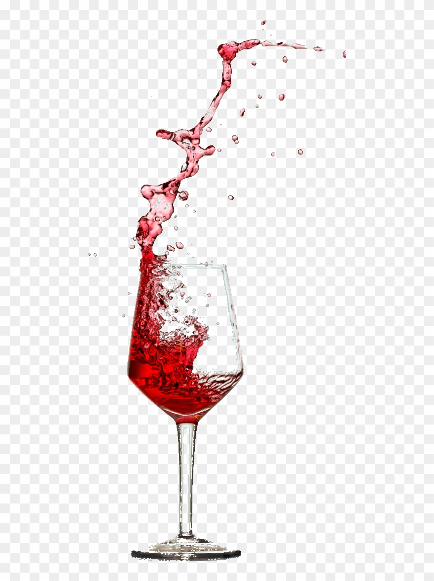 Transparent Background Red Wine Glass Png , Png Download Clipart