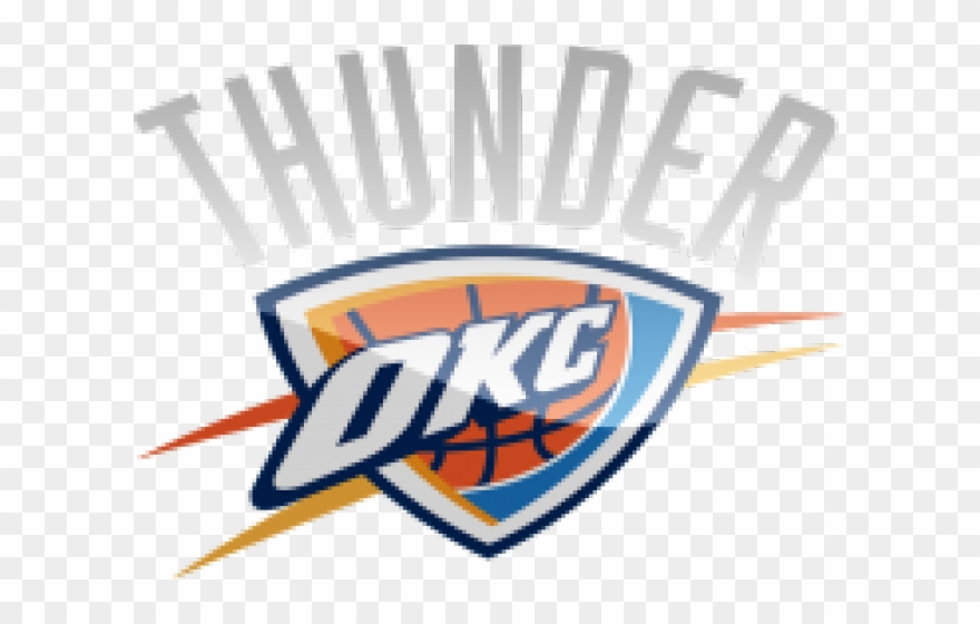 innovative design a62eb 39f18 Oklahoma City Thunder Clipart Transparent - Png Download ...