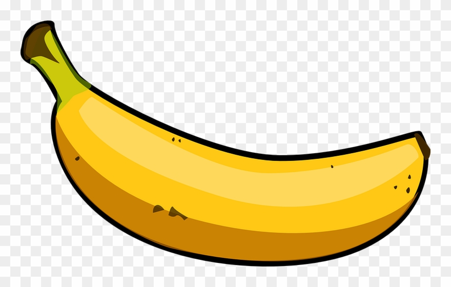 Banana printable. Clipart transparent png download