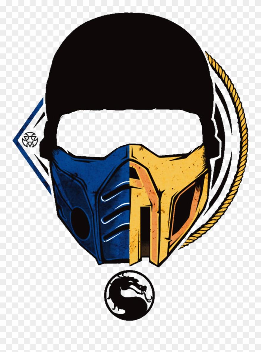 Mortal Kombat Scorpion Mask Photo Clipart 3053869 Pinclipart
