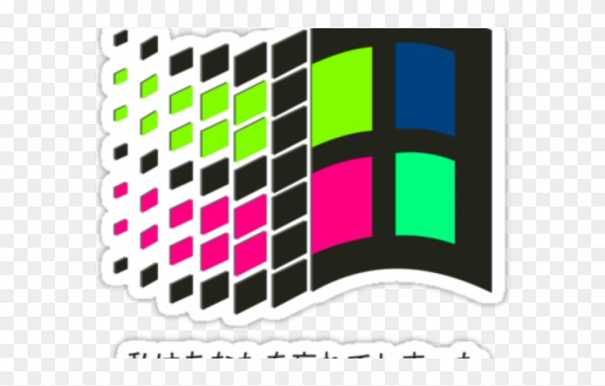 Vaporwave Clipart Transparent Background - Png Download