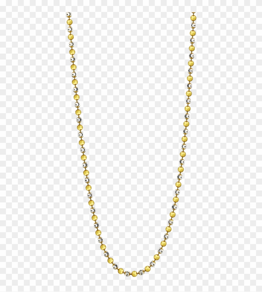 Yellow Gold Necklace Chain Png Clipart 3059188 Pinclipart