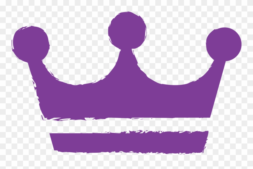 Purple crown. Clip art png download