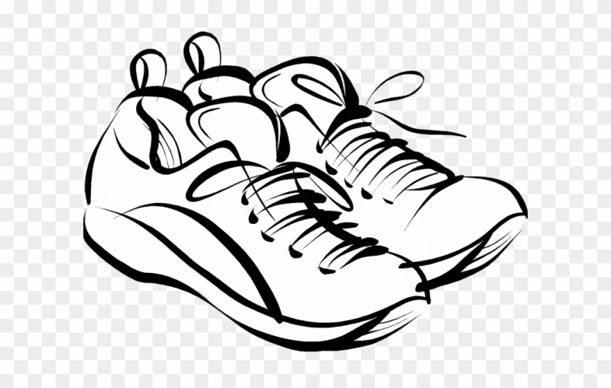 Gym Shoes Clipart Casual Shoe