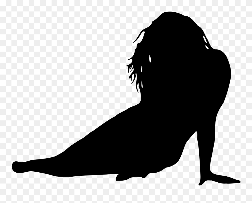 8ad9de7f0 Female Body Shape Silhouette Woman Clip Art - Scared Girl Silhouette Png  Transparent Png