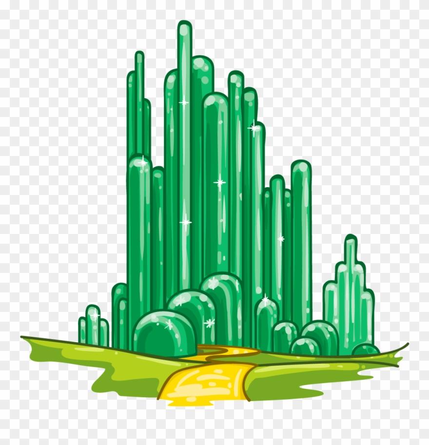 Clip Art Emerald City Clip Art City Of Oz Png Download