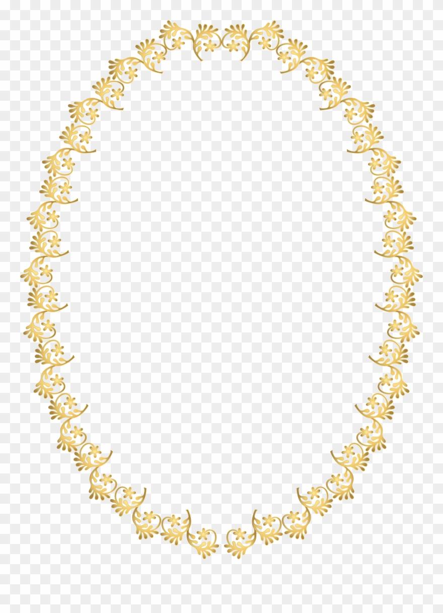 Frame Transparent Clip Art Frame Dourado Png Fundo