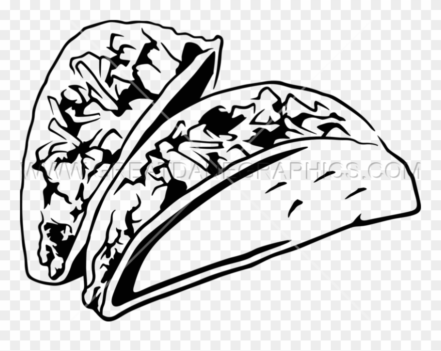 Black And White Taco