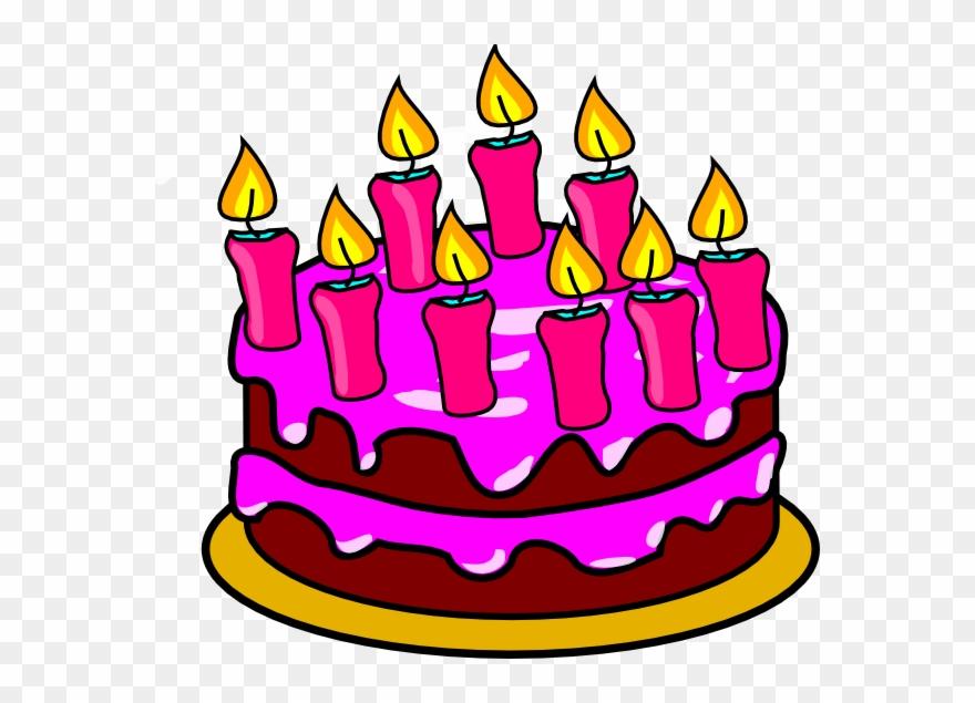 Ulang Tahun Clip Art Birthday Cake 2 Clipart Png