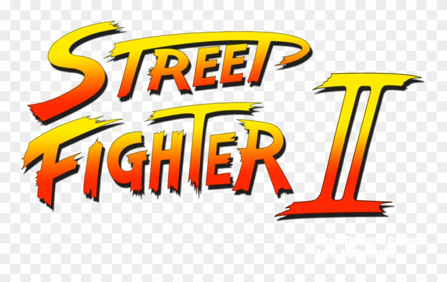 Street Fighter Ii Logo By Mdtartist83 Street Fighter Logo Png Clipart 316193 Pinclipart