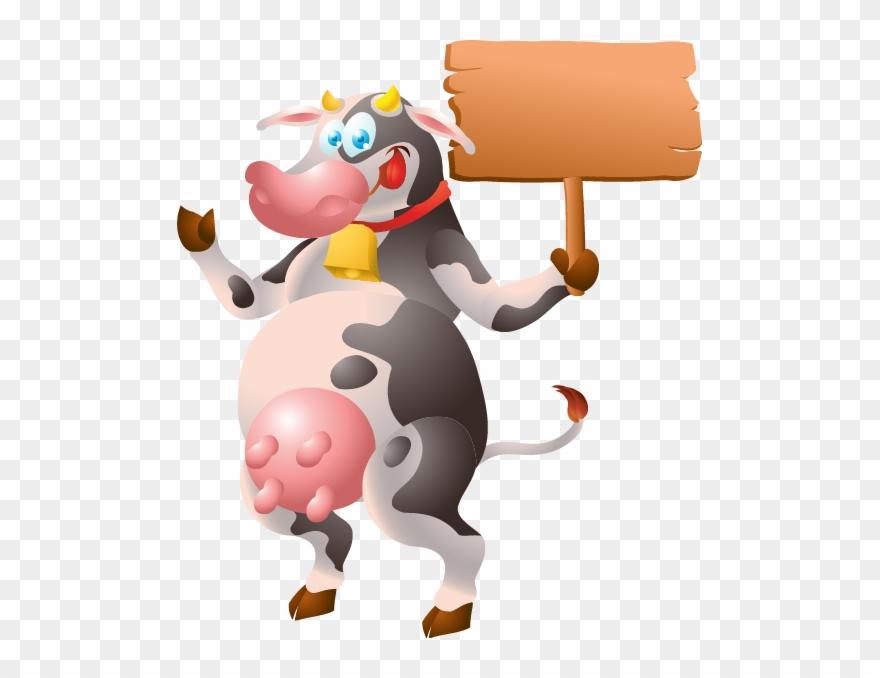 Vache Pancarte Fond Transparent Clipart Full Size Clipart 317345 Pinclipart