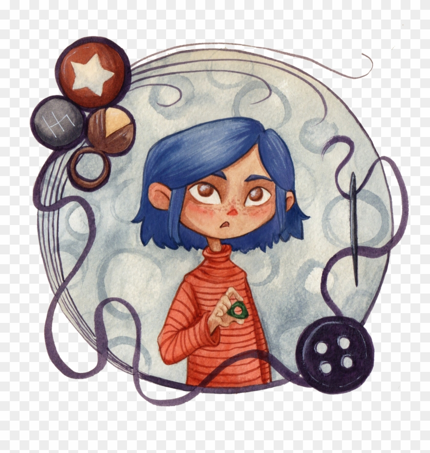 Coraline Clipart Png Download 3135971 Pinclipart