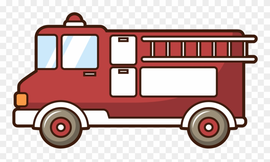 Car Motor Vehicle Fire Engine Firefighter Drawing Clipart 3160115