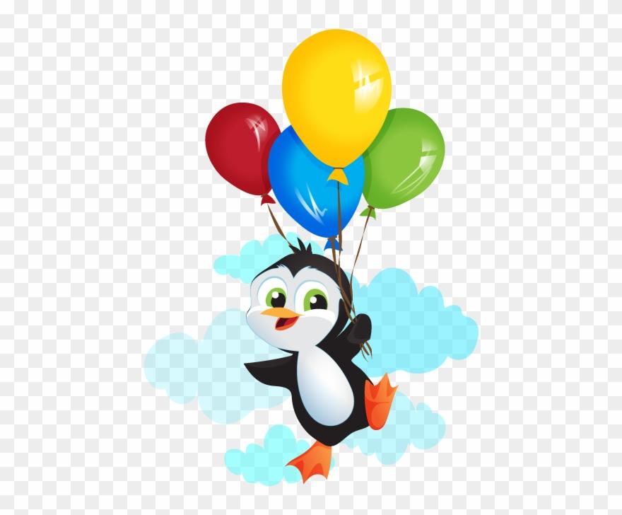 Penguins Clipart Chinstrap Penguin - Imagenes De Pingüinos En Caricatura -  Png Download (#5435657) - PinClipart