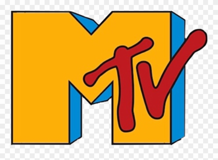 Aesthetic Sticker 90s Mtv Logo Clipart 3186355 Pinclipart