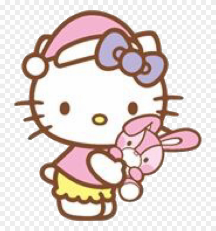 Stickers De Hello Kitty Para Whatsapp.Bedtime Sticker Hello Kitty Good Night Clipart 3186384