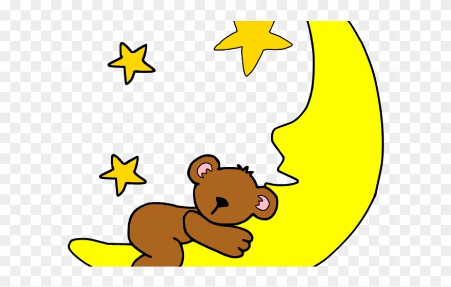 Moon Clipart Child - Priya Good Night Names - Png Download