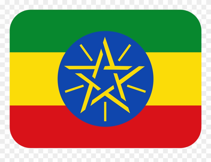 Flag Of Ethiopia Ethiopia Country Flag Clipart 3197018 Pinclipart