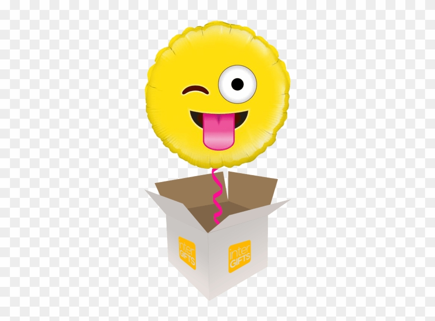 Emoji Helium Balloons Delivered In The Uk By Interballoon