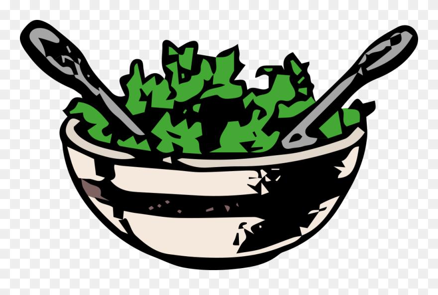 Medium Image Green Salad Clipart Png Download 320785 Pinclipart