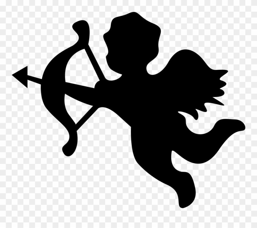 Vector Download Angel Silhouette Svg Png Siluetas De