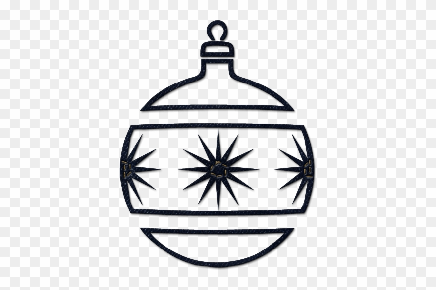 Clip Art Royalty Free Decor Black And White Christmas Ornaments Black And White Png Download 320812 Pinclipart