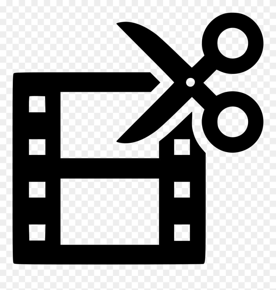 Film Edit Icon Clipart Video Film Editing Symbol Film And Video