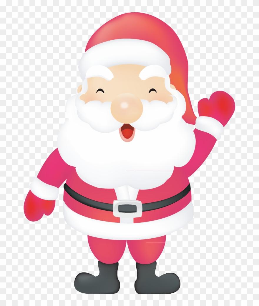 Imagenes De Papa Noel De Navidad.Papa Noel Santa Claus Navidad Vector Cute Santa Claus